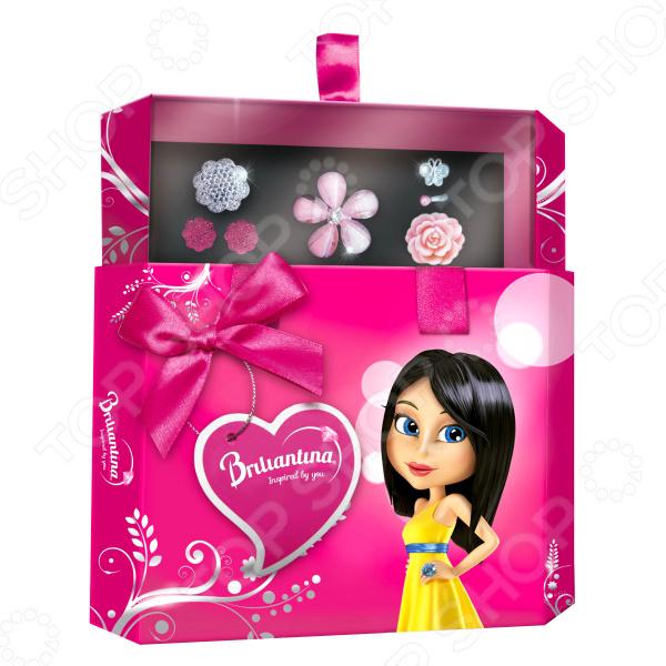 Набор украшений для девочки Briliantina Pink «Шкатулка» шкатулка для украшений toto umbra шкатулка для украшений toto