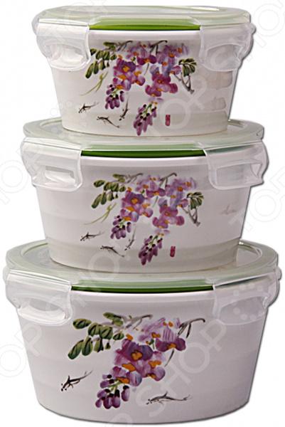 Набор контейнеров для продуктов Patricia IM99-5286 набор контейнеров patricia круглых 7 предметов im99 1401