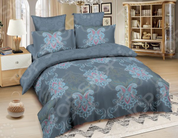 Комплект постельного белья Amore Mio BZ Chicago комплекты белья linse комплект белья