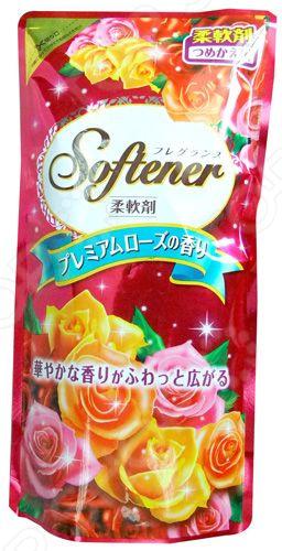 Кондиционер для белья Nihon Detergent Sweet Floral с нежным ароматом роз