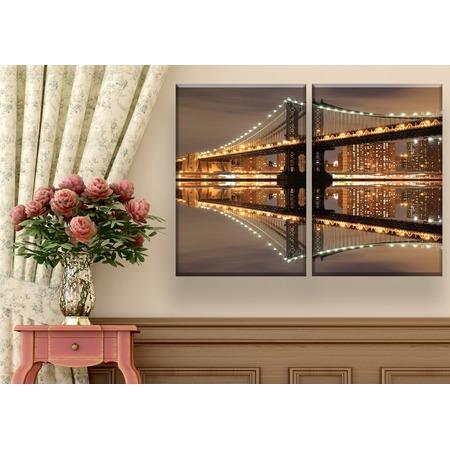 Купить Картина 2-модульная ТамиТекс «Мост»