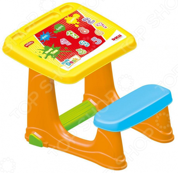 Парта со скамейкой Dolu 7065 парта со скамейкой dolu парта со скамейкой и открывающейся столешницей