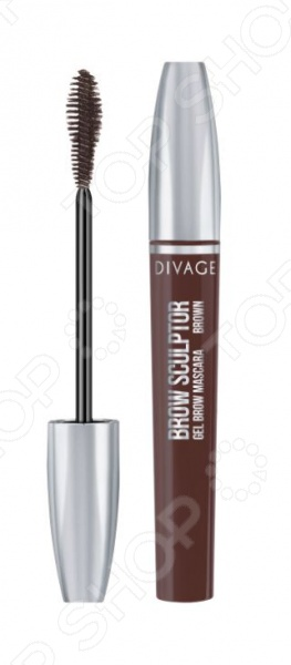 Тушь для бровей DIVAGE Brow Sculptor Gel Brown