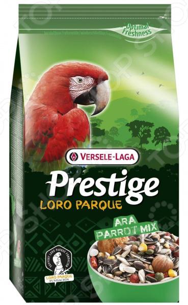 Корм для попугаев крупных размеров Versele-Laga Prestige PREMIUM Ara Parrot Loro Parque Mix туфли ara ara ar222awqso18