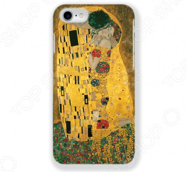 Чехол для iPhone 7 Mitya Veselkov «Поцелуй Климта» часы поцелуй климта mitya veselkov часы поцелуй климта