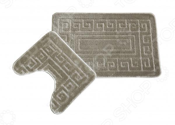 Комплект ковриков для ванной и туалета Cleopatra «Фремонт». Рисунок: Версаче