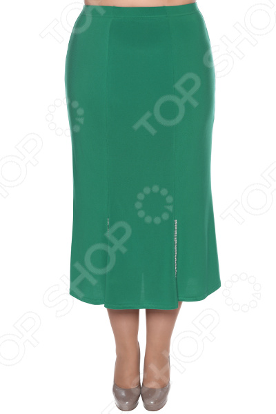 Юбка Pretty Woman «Загадочный блеск». Цвет: зеленый