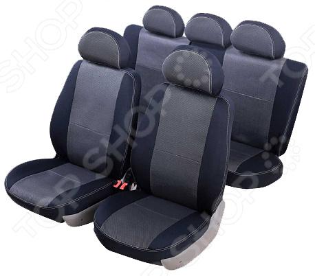 Набор чехлов для сидений Senator Dakkar Hyundai Solaris 2010-2017 5 дверей комплект чехлов на весь салон senator dakkar s3010391 renault duster от 2011 black