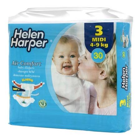 Купить Подгузники Helen Harper Harper Air comfort midi (4-9 кг)
