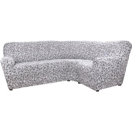 Купить Натяжной чехол на классический угловой диван Еврочехол «Сиена Джоя»