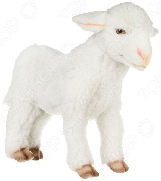 Мягкая игрушка Hansa «Ягненок белый стоящий»
