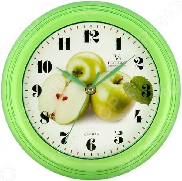 Часы настенные Вега П 6-3-6 «Яблоко зеленое» Вега - артикул: 1728604