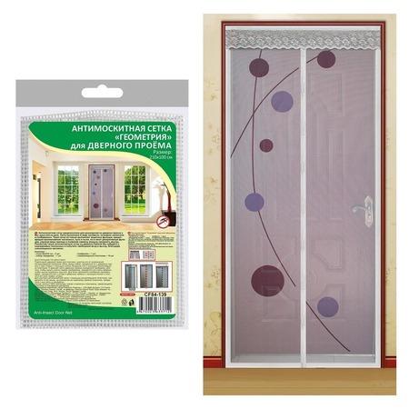 Купить Сетка антимоскитная на дверь Мультидом «Геометрия» CF84-139