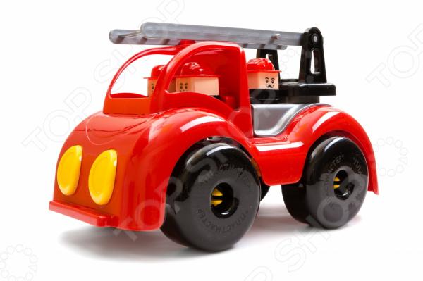 Машинка игрушечная Пластмастер «Пожарная. Крепыш»