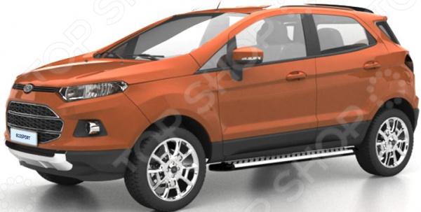 Фото - Комплект порогов Souz-96 Ford EcoSport, 2014 авто