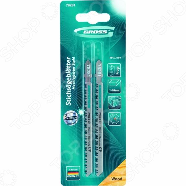Пилки для электролобзика GROSS 78281 заклепочник усиленный gross 40409