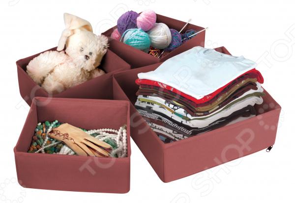 Набор коробок для хранения вещей «Матрешка»