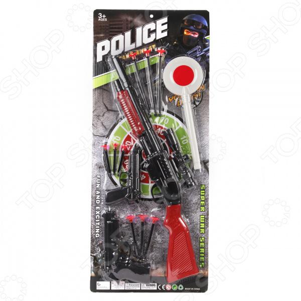 Игровой набор для мальчика Наша Игрушка «Полиция» 637989 игровой набор наша игрушка чемоданчик стоматолога 13 предметов