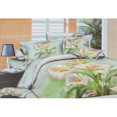 Купить Комплект постельного белья Mango «Каллы». Семейный