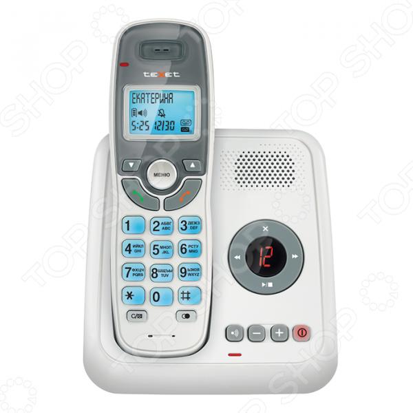 Радиотелефон Texet TX-D6955A телефон проводной texet tx 201 белый