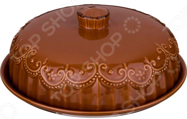 Блюдо для блинов с крышкой Agness «Каннелла» 358-1255 блюдо agness 546 055