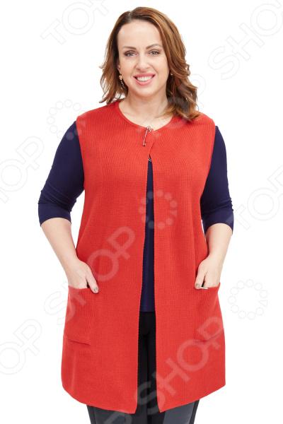 Жилет Milana Style «Заира». Цвет: красный