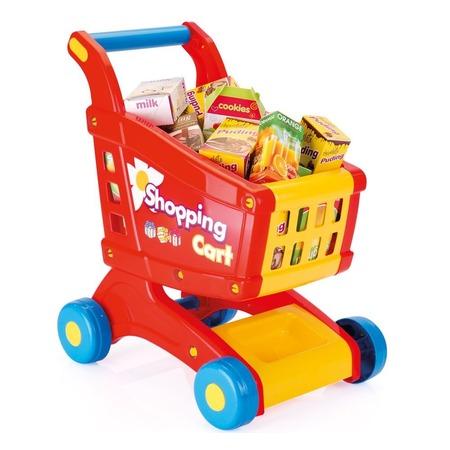 Купить Игровой набор для ребенка Dolu «Тележка с продуктами»