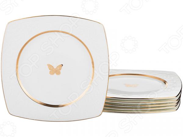 Набор десертных тарелок Lefard «Бабочка»