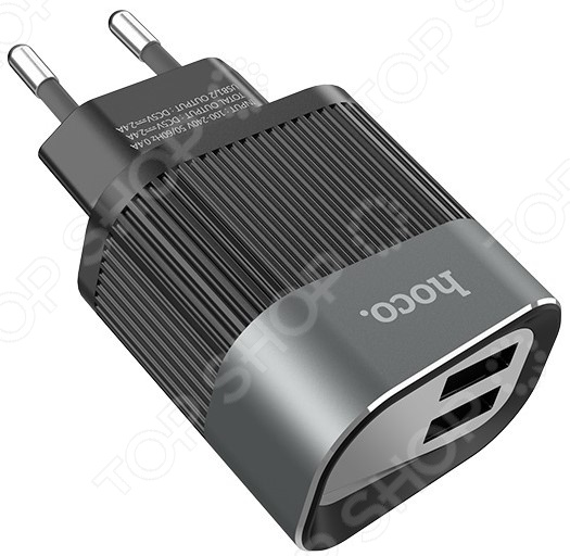 Устройство зарядное сетевое Hoco C40A Speedmaster Dual Port Charger все цены