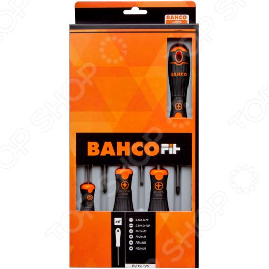 Набор отверток Bahco Fit B219.026 шило bahco fit 6 0x 100 b 145 006 10
