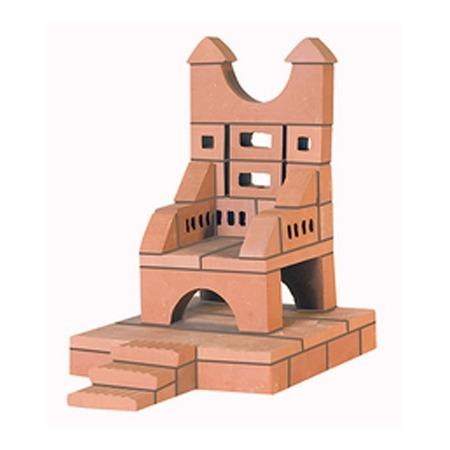 Купить Конструктор из глины Brick Master «Трон»