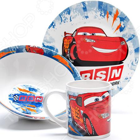 Набор детской посуды Mayer&Boch Disney «Тачки» 26997