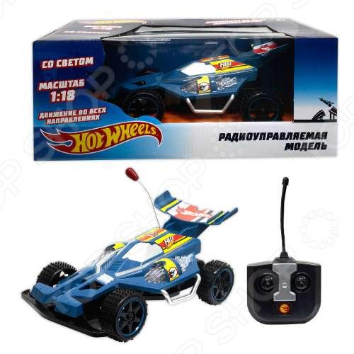 Машинка на радиоуправлении 1 Toy со светом «Багги» Т10977 160 дет санта клаус