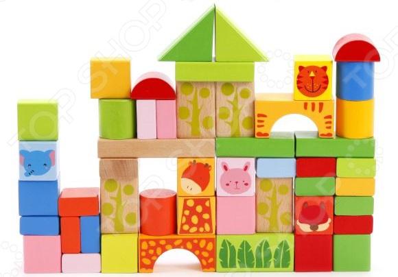 Кубики развивающие Mapacha в ведре