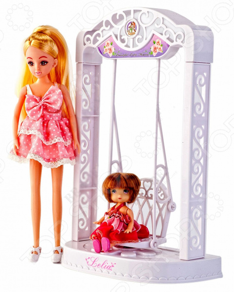Кукла Bradex «Лелия» с качелями
