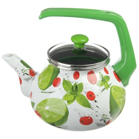 Купить Чайник эмалированный Interos 3033 «Мохито»