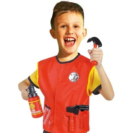 Купить Ролевой костюм для мальчика Город игр с аксессуарами «Пожарник»