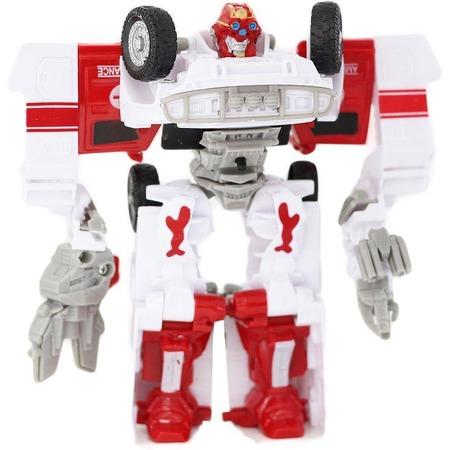 Купить Робот-трансформер Taiko Ambulance со светозвуковыми эффектами. В ассортименте