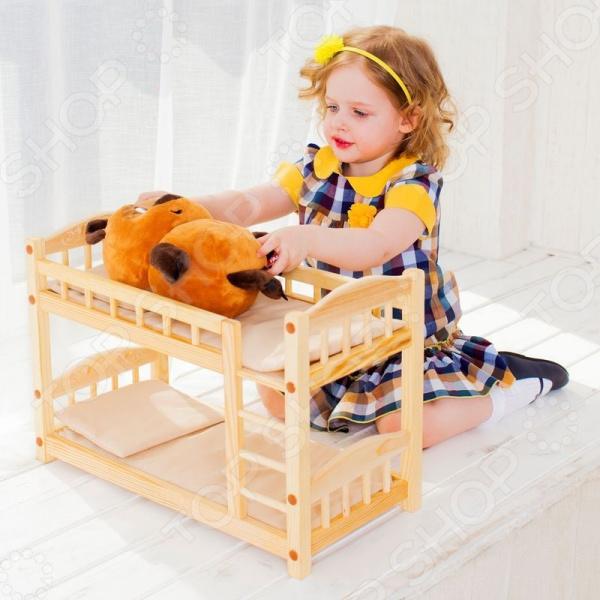 Кроватка двухъярусная для кукол PAREMO PFD116
