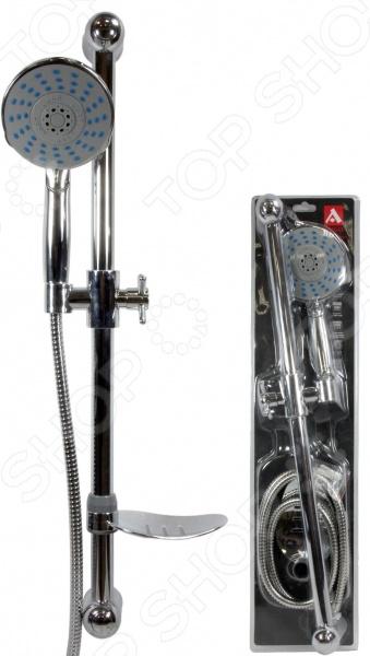 цена на Набор для душа: лейка, шланг и стойка Argo Disc