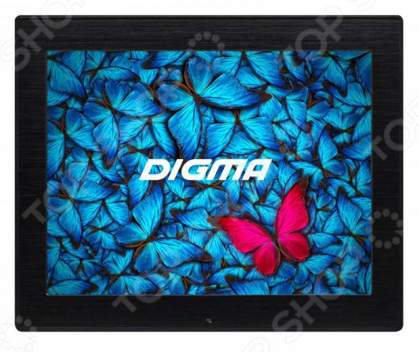 Цифровая фоторамка Digma PF-86M фоторамки platinum quality фоторамка часы аэроплан