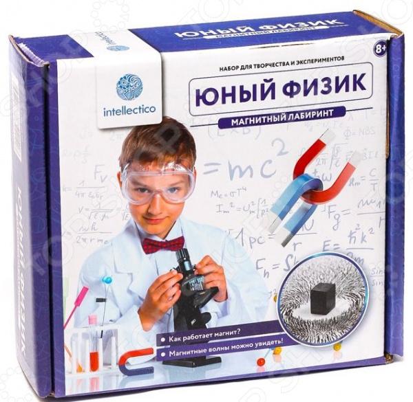 Набор для опытов Intellectico «Юный Физик. Магнитный лабиринт»