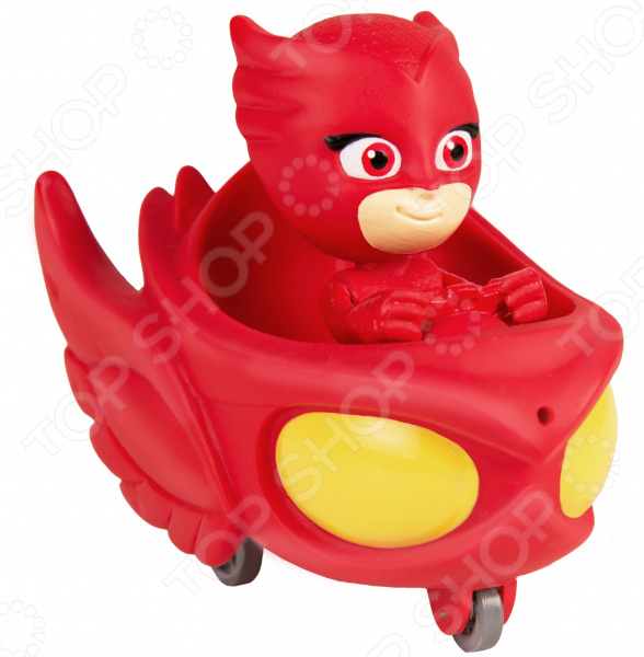 Набор детских игрушек для ванны PJ Masks «Алетт в машине»