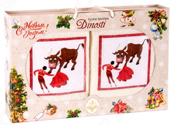 Набор кухонных полотенец Dinosti 1747339