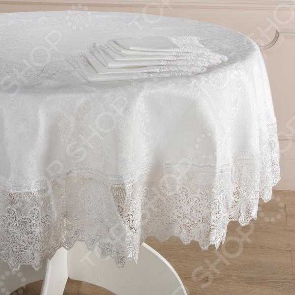 Набор: скатерть и салфетки Santalino 836-085
