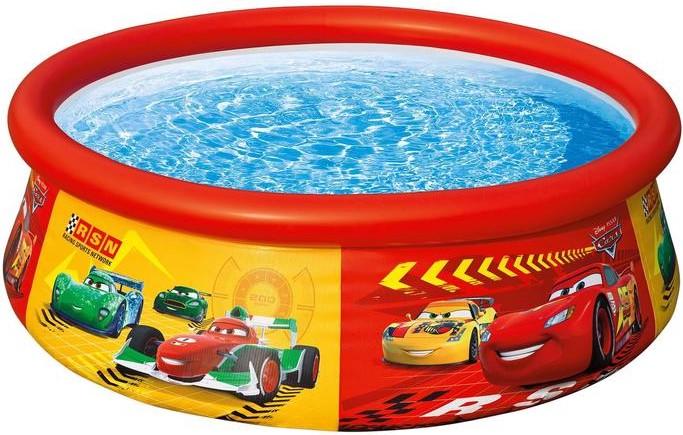 Бассейн надувной детский Intex «Тачки». Диаметр: 183 см
