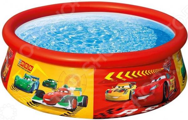 Детский надувной бассейн Intex «Тачки»
