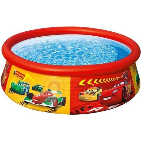 Купить Бассейн надувной детский Intex «Тачки». Диаметр: 183 см