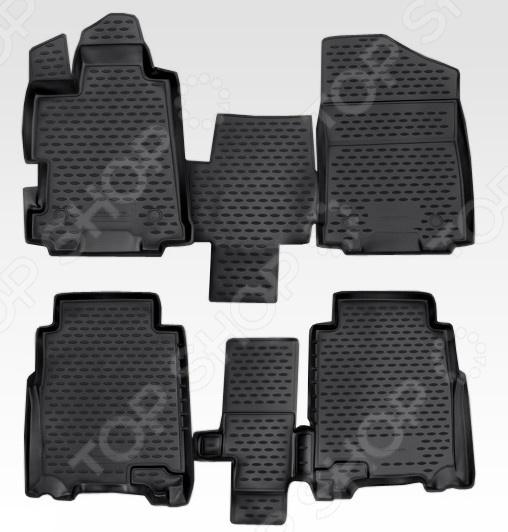 Комплект ковриков в салон автомобиля Novline Autofamily Honda FR-V 2004-2010