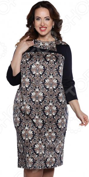 Платье Лауме-Лайн «Сладкая жизнь». Цвет: коричневый платье klingel цвет коричневый